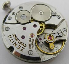 used Zenith 2531 19 jewels manual winding watch movement for parts ...