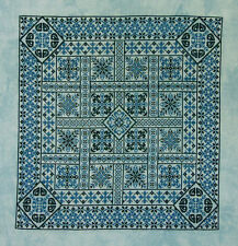 Shades of Turquoise cross-stitch pamphlet by Northern Expressions Needlework