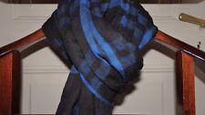 Magnifique écharpe carreaux bleu noir CORLEONE ! 100% coton !