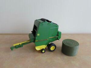 ERTL John Deere 590 Round Baler Diecast Model, Farm Implement Farming 1:32 Scale