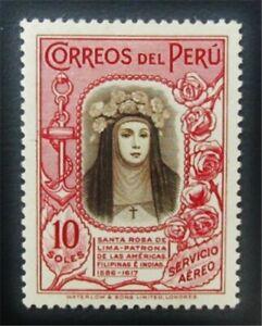 nystamps Peru Stamp # C39 Mint OG H $125 J15y1610
