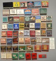 62 Vintage New York & NYC Restaurant Matchbooks