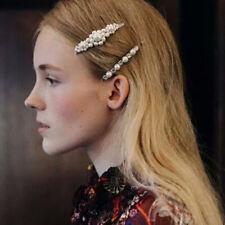 10 Pcs Femme pince à cheveux épingle à cheveux perle Barrette coiffe Bijoux