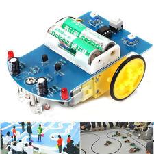 Auto a motore elettrico 3v piccola smart car kit fai da te intelligente smart