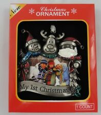 Christmas Tree Decorations Baby's 1st Christmas Ornaments Babies First Christmas