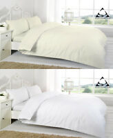 100% Egyptian Cotton Fitted Bed Sheets 200 Thread Single Double Super King Size