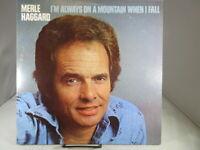 Merle Haggard  Im Always On A Mountain When I Fall  1978  MCA 2375 33 rpm LP NM