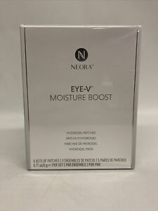 NEW Neora Nerium Eye-V Moisture Boost Hydrogel Patches 5 Sets (Boxed/Sealed)