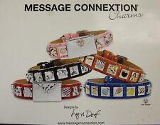 Message Connexion - Bracelets, Studs, Envelopes. Lot. Store stock Collection.New