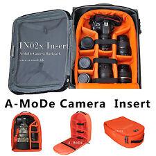 DSLR Large Capacity Camera Luggage insert waterproof Backpack case gopro dji