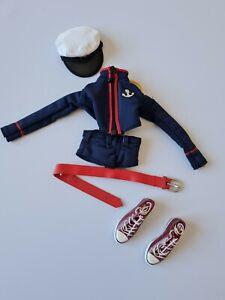 1:6 scale female navy style clothing set