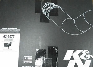 K&N 63-3077 63 Series Aircharger Hi-Performance Air Intake, GM Duramax Diesel