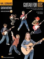 HAL LEONARD GUITAR METHOD FOR KIDS CHILDRENS BOOK - ONLINE AUDIO ACCESS INCLUDED