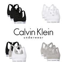 Calvin Klein Damen Bustier / Bralette / Sport BH 3er Pack frustfreie Verpackung