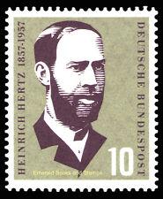 EBS Germany 1957 Heinrich Hertz Michel 252 MNH**