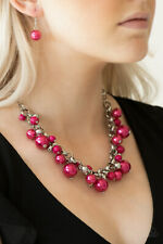 The Upstater Pink Necklace By: Paparazzi