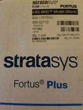 Stratasys ABS-M30 (Black)FDM  PLUS 92  FORTUS  3D Printer Cartridge and Filament