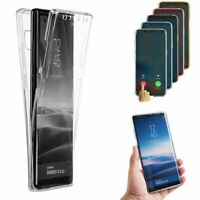 For Samsung Galaxy S10 Plus S10e Slim 360° Full Body Case Soft TPU Clear Cover