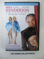 Mrs. Henderson,  Judi Dench, Bob Hoskins, Christopher Guest, Kelly Reilly  DVD