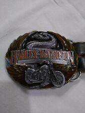 Gürtel Gürtelschnalle Official Motor Harley Davidson Company Licensed Product