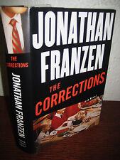 1st Edition THE CORRECTIONS Jonathan Franzen NATIONAL BOOK AWARD Fiction NOVEL