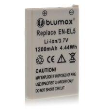Battery Battery for Nikon EN-EL5, Coolpix P100; Coolpix P3; Coolpix P4 blumax