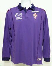 EUC Beautiful ACF Fiorentina Joma Long Sleeve Shirt Italy Soccer Football sz L