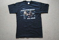 PAUL WELLER WAKE UP THE NATION TOUR T SHIRT SMALL NEW OFFICIAL ROYAL ALBERT HALL