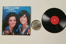 Miniature record album 1/6 Playscale Donny Osmond Donny and Marie Osmond