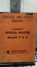 Flaherty Spread-master Model C & D Operation and Maintenance Manual