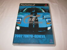 Gran Turismo Concept: 2002 Tokyo-Geneva Playstation PS2 Japan Ford GT Cover Rare