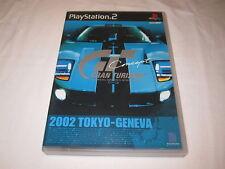 Gran Turismo Concept: 2002 Tokyo-Geneva Playstation PS2 Japan Ford GT Cover Rare