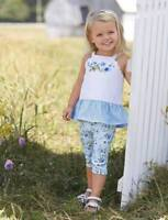 Mud Pie Still Blooming Floral Tunic & Legging Set  12-18M 24M/2T 3T 4T