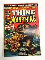 MARVEL TWO-IN-ONE #1 THE THING AND THE MAN-THING MARVEL COMICS 1974 GIL KANE