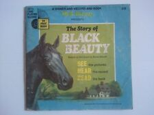 Disney BLACK BEAUTY - 33.3 Long Playing Record & Book - Vintage 1966