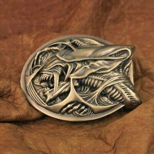 Good Details Handmade Brass AVP Alien Mens Biker Punk Belt Buckle TA301B