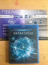 Prometheus 3D(Blu-ray,2012,3-Disc,Collector's Edition 3D) Authentic US