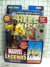 2006 Marvel Legends Mojo Series Action Figure Luke Cage with Comic New