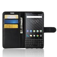 For BlackBerry DTEK60 Flip Wallet Slot Case/Cover/Card Holder Kickstand Pouch