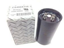 460-552 Uf Start Capacitor MFD 110 VAC Pool Pump Motor Compressor Hvac CS460X110