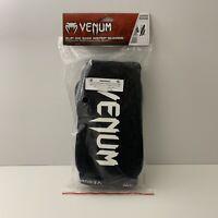 Venum Kontact Premium Slip-On Shin Only Guards - Black