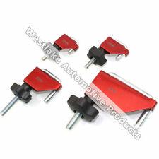 4PC Fluid Line Clamp Hose Set For Vacuum Brake Transmission Heat Fuel Lines