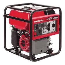 Honda 3,000 Watt Quiet GFCI Portable Gas Powered Backup Home Generator - EB3000c