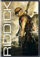 Riddick The Complete Collection New Dvd 4 Films Pitch Black Dark Fury Chronicles