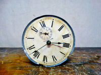 Antique Waterbury Spasmotic Windup Alarm Clock Pat. Early 1900's
