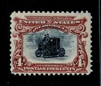 [DE]   US #296 Mint-NH 1901 ~ 4c PAN-AM BICOLOR EXPO  Issue..Ships FREE!