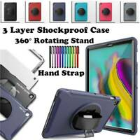 For Samsung Galaxy Tab A S5e 10.1 2019 Case Shockproof Cover 360 Rotating Stand