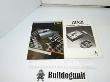 Lot 2 Atari 5200 System Console Switch Box Instruction Manual Only No Game