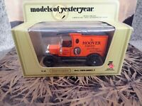 Matchbox Models of Yesteryear  Y-12 1912 Ford Model T Hoover