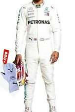karting suit Hamilton Mercedes petronas kart racing suit with Free Gloves